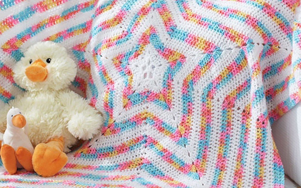 Free Baby Star Blanket Pattern