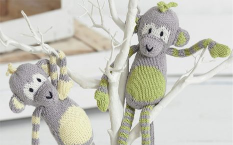Citrus Monkeys Knitting Pattern