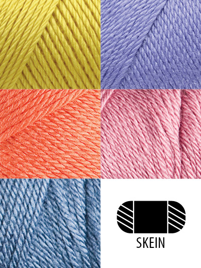Caron® Simply Soft® has no equal. It's perfect to use to make baby blankets, scarves, afghans or any other knit or crochet project that needs medium-weight, soft yarn. We do not guarantee dye lots, but will match lots if possible.