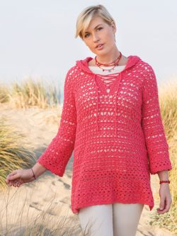 ANNIE'S SIGNATURE DESIGNS: Cresting Waves Tunic Crochet Pattern