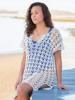 ANNIE'S SIGNATURE DESIGNS: Back Bay Cover-Up Crochet Pattern