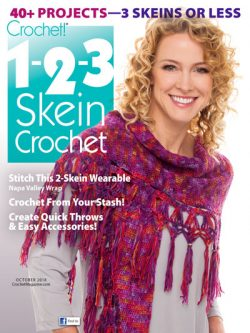 1-2-3 Skein Crochet Patterns